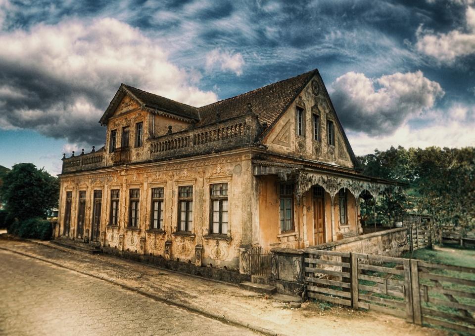 Casa Antiga - Rancho Queimado - SC [ Ver Imagem Original ]