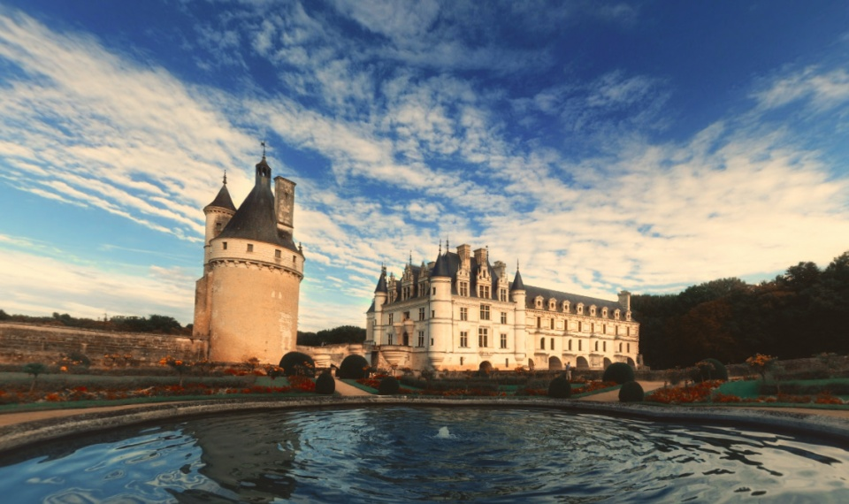 Castelo de Chenonceau - França [ Ver imagem original ]