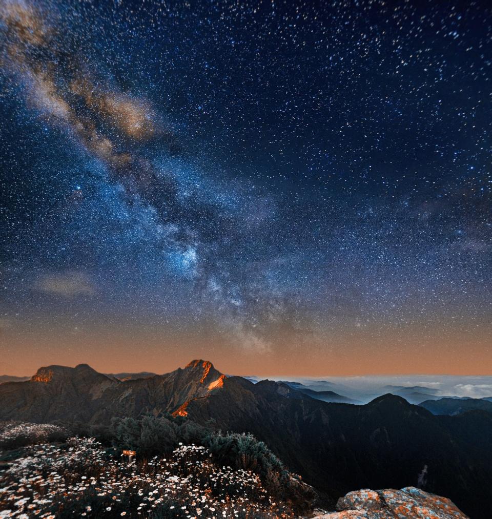 Yushan North Peak - Taiwan [ Ver imagem original ]